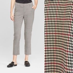 A New Day houndstooth slim leg pants